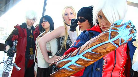 Devil May Cry 4 photographed by